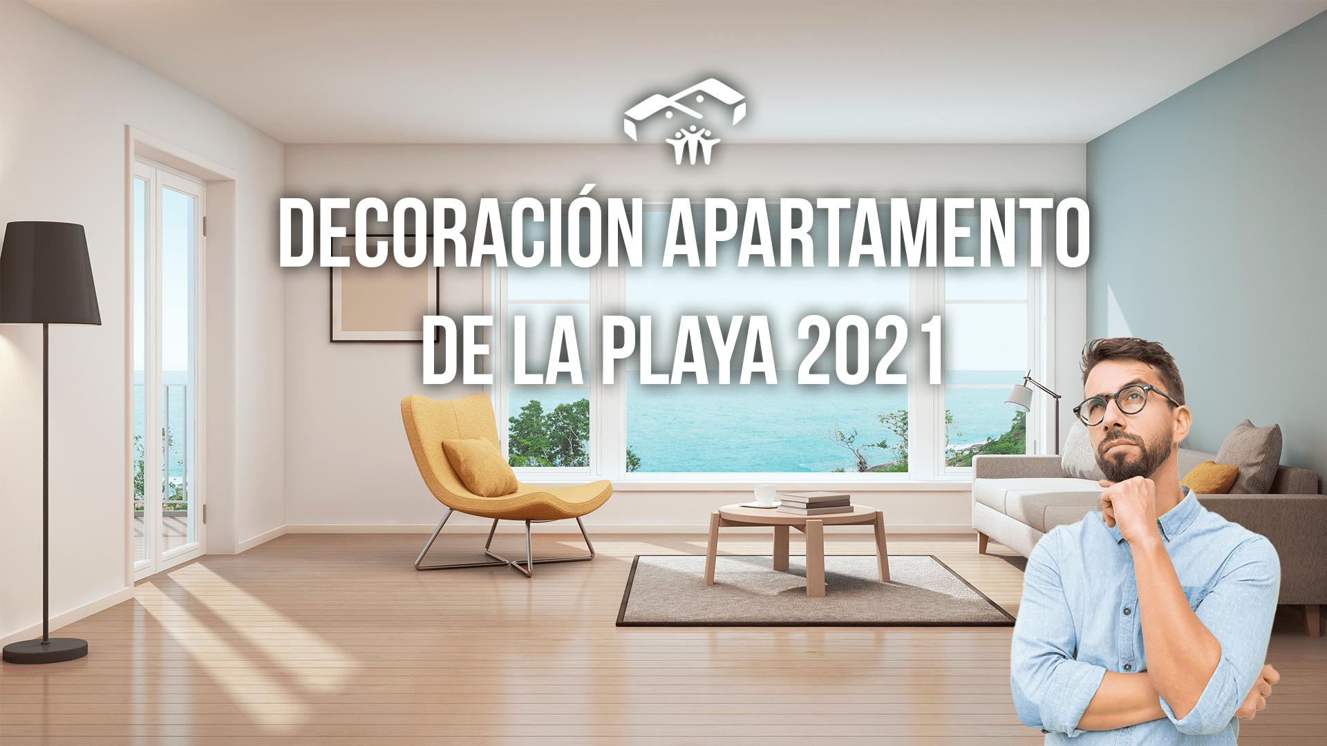 decoración apartamento de playa